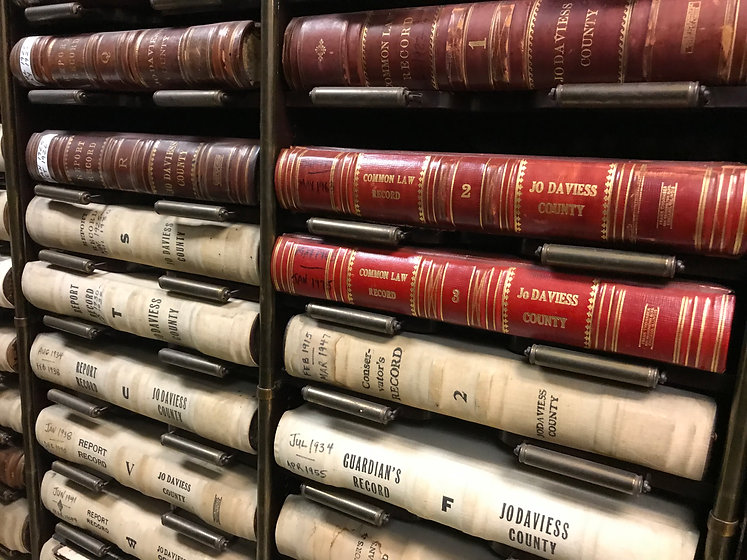 courthouse books Jo Daviess County.JPG