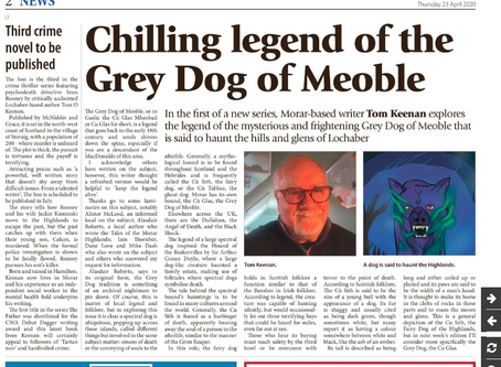 We're in the Lochaber Times (23 April 2020)