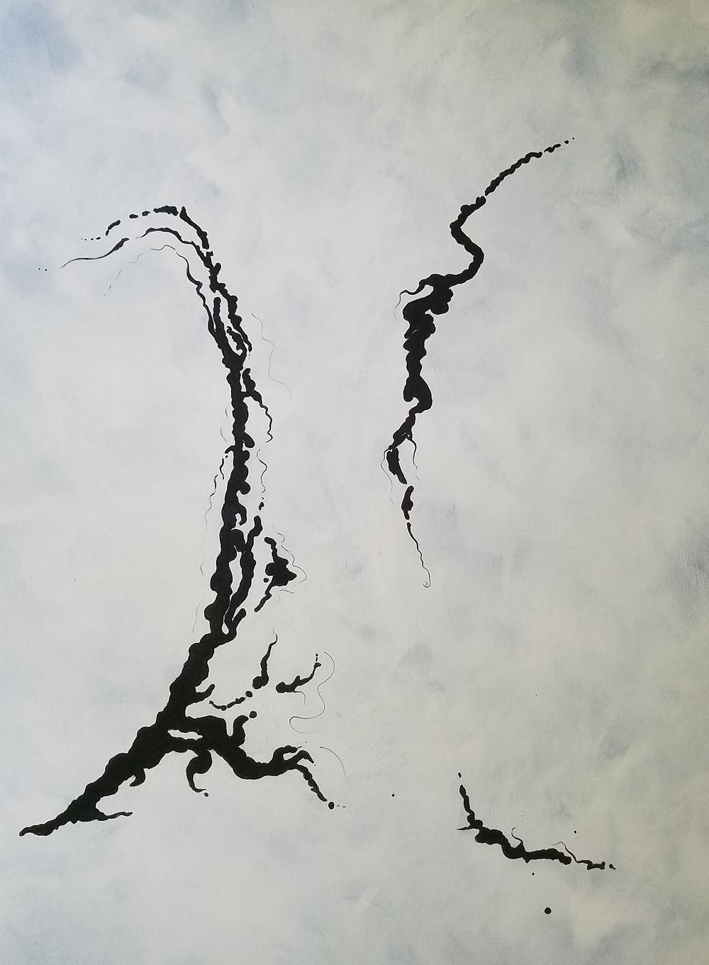 2017, Acrylic on Canvas, 30x40, $1111.00