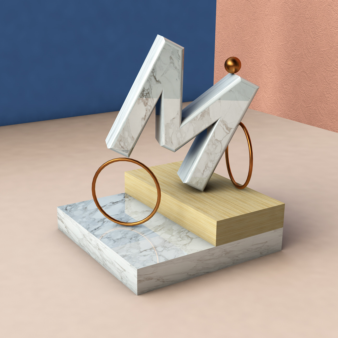 M for Marble