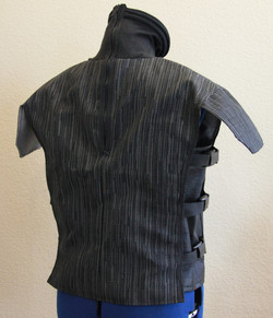 Hazardous Environment Zipper Back