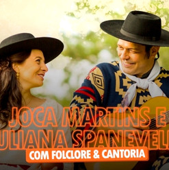 Joca Martins e Juliana Spanevello