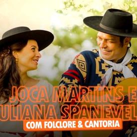 Joca Martins e Juliana Spanevello