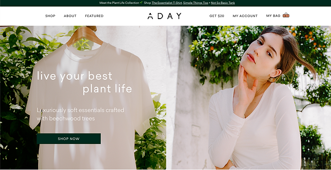 ADAY plant if homepage