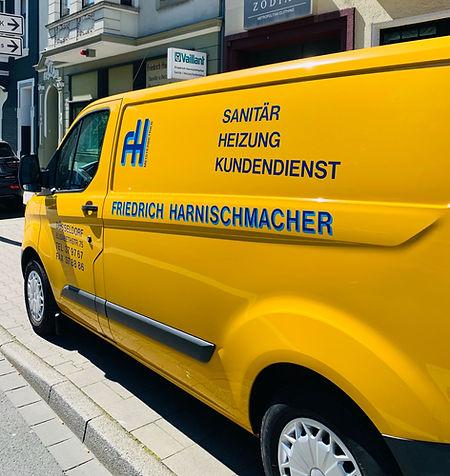 Einsatzfahrzeug Friedrich Harnischmacher