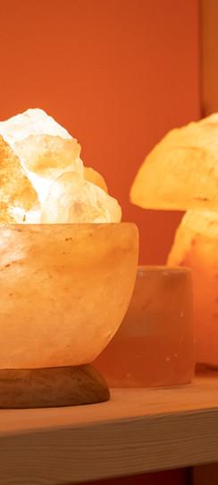 Salzgrotte Bad Pyrmont Salzlampen