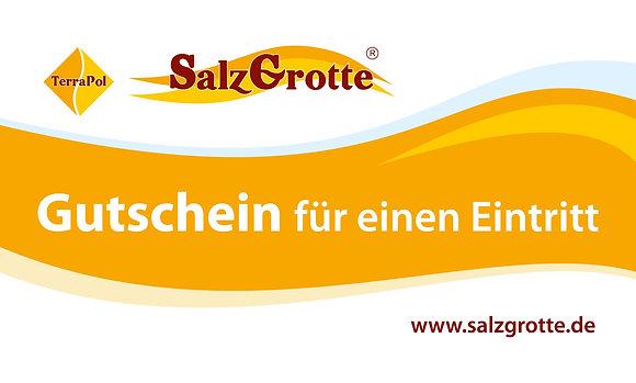 Einzelgutschein SalzGrotte