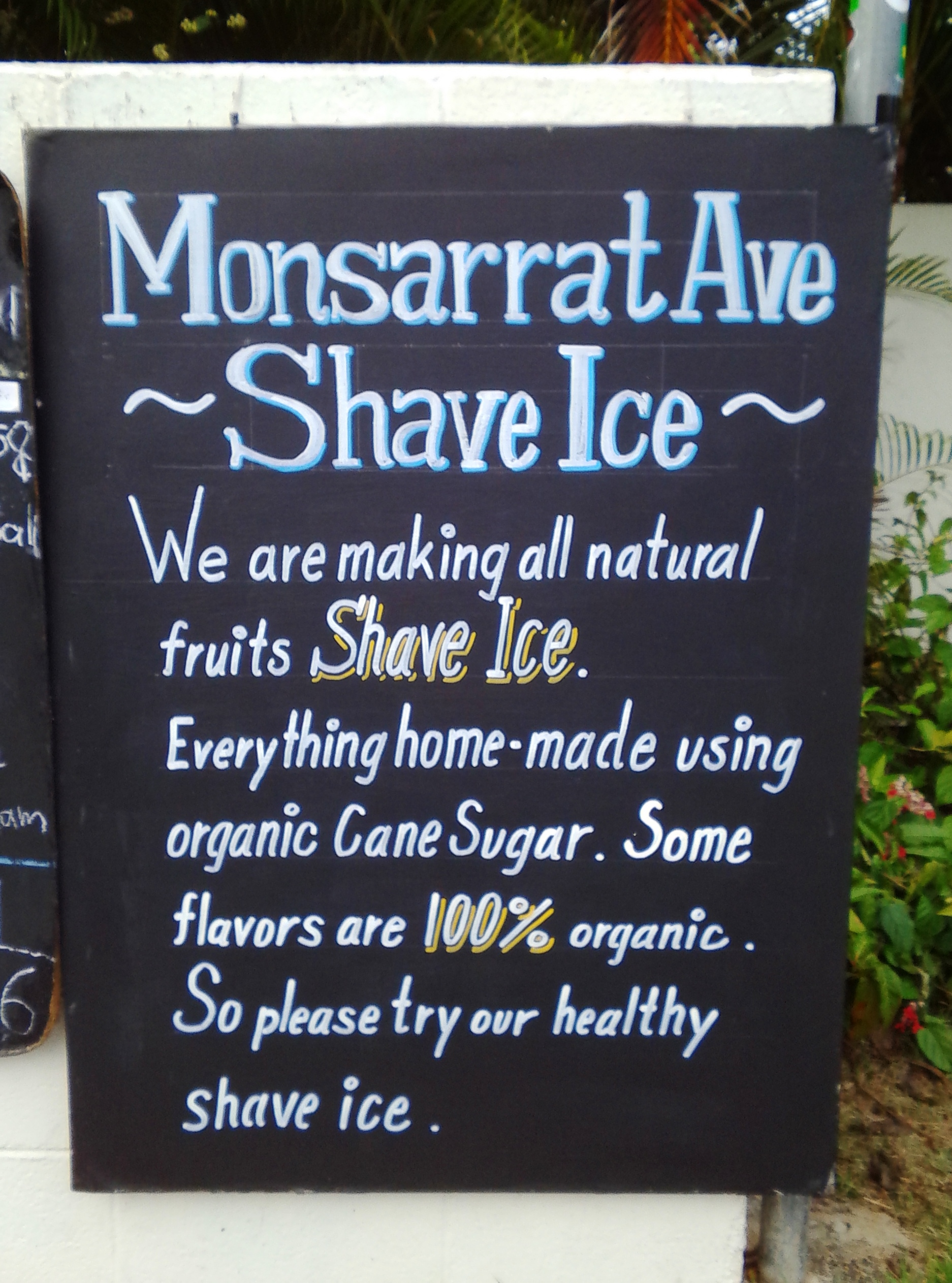 Monsarrat Ave. Shave Ice