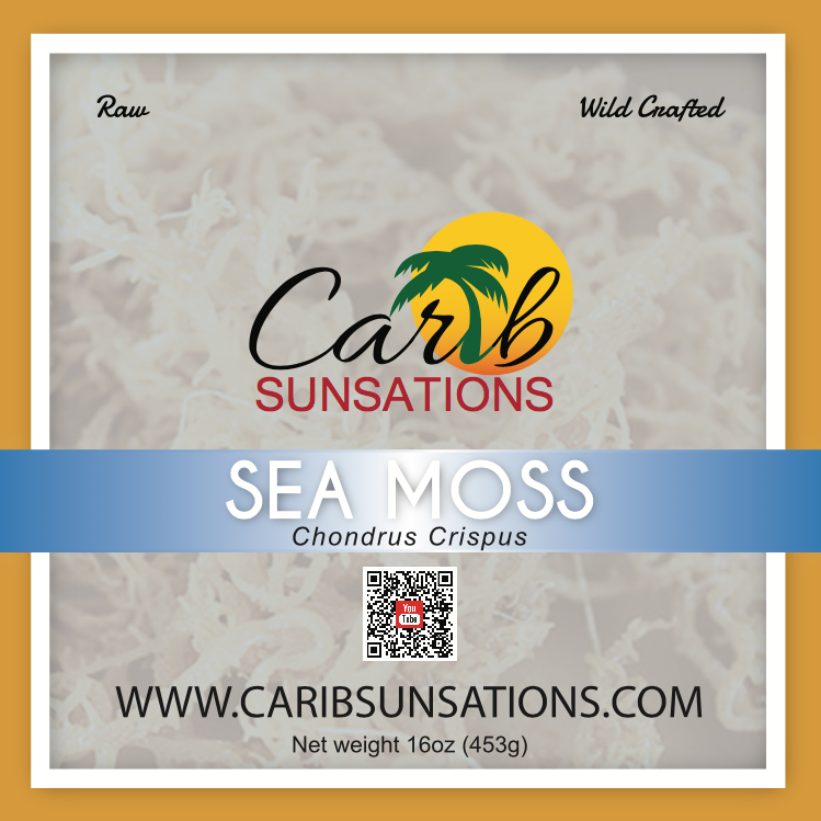 Raw Sea Moss (wildcrafted)