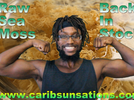 Raw Sea Moss is Back in Stock!!