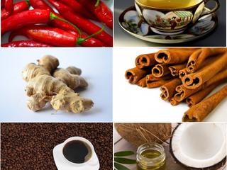 💥 Chás e alimentos emagrecedores