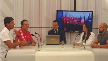 CaNutricionista florianópolis Participação no Programa Conversas Cruzadas - Tema: Destaque de Floripa como a Cidade mais Saudável do Brasil