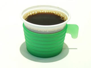 Café em copo de plástico, nunca!!