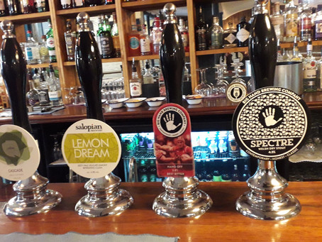 Time for a pint? Well, we think so - carefully