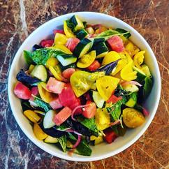 End of Summer Salads, @sunriseorganicfar