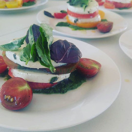 Heirloom Tomato Caprese Salad for @stolp