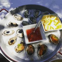 Oyster, Santa Barbara Uni, Caviar! Just