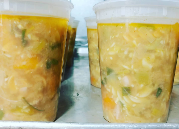 Chicken and Vegetable Soup (Frozen)