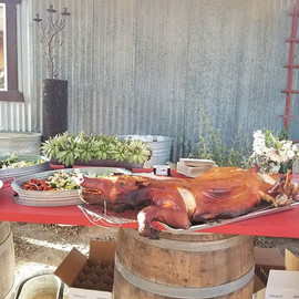 Whole Roasted Pig #highonthehogcatering