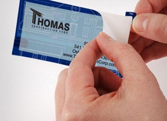 Αυτοκόλλητες ετικέτες - Αυτοκόλλητες κάρτες χάρτινες