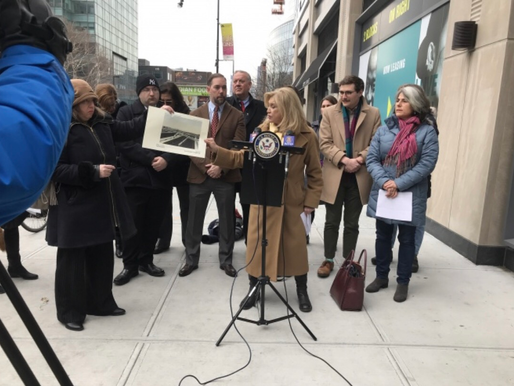 Maloney, Area Civic Leaders Call on MTA to Make Promised Sunnyside LIRR Station a Reality