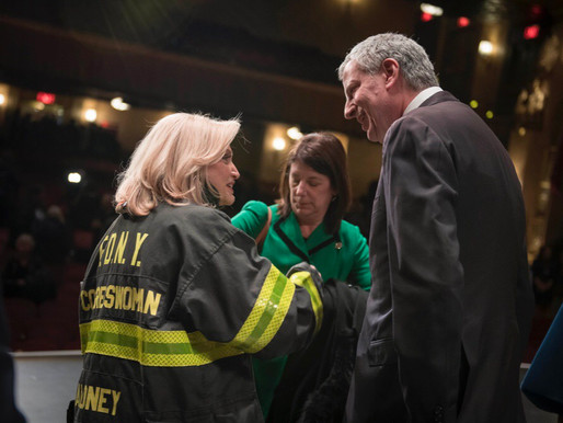 City honors advocates of the permanently-funded 9/11 Victim Compensation Fund