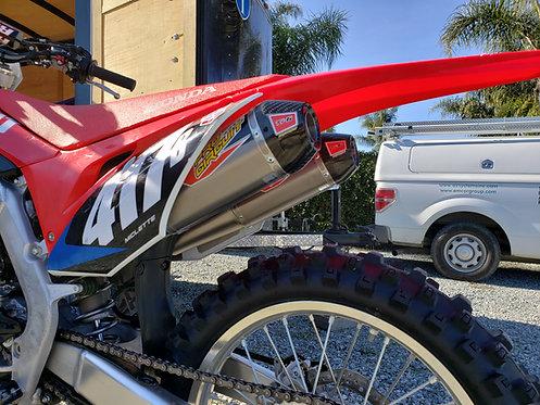 Pro Circuit Exhaust // Honda