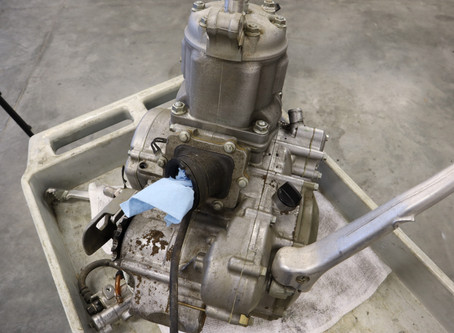 Your CR250 Engine Is Out & Headed to Haeseker Racing Engines!