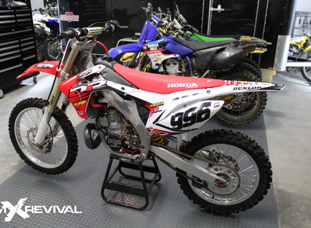 Bringing a 2003 CR250R into the modern moto-era. An mXrevival full build for DP Motorsports.