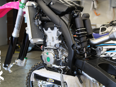 What Does It Cost To Revive A Bike?? 2016 KX450F Full Build #ProjectBigKorea