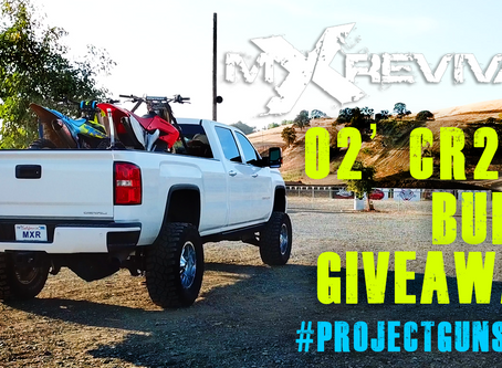 AND SO IT BEGINS! mXrevival's 2002 CR250R Bike Build & Giveaway