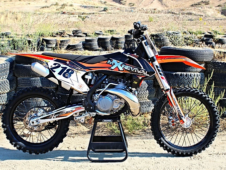 Ride 3 on the new KTM