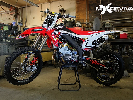 Bringing a 2003 CR250R into the modern moto-era. An mXrevival full build for DP Motorsports