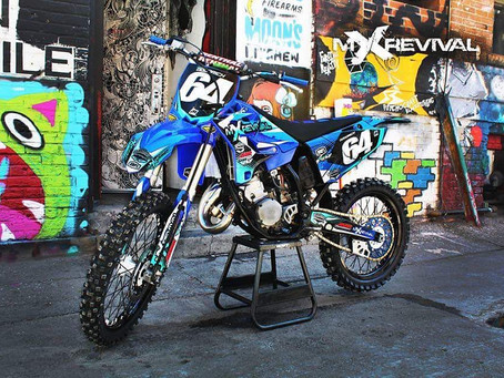 REVIVING A STEEL FRAMED YZ 125
