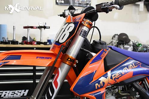 Husqvarna/ KTM DP MOTORSPORTS TRIPLE CLAMPS, OEM Offset 22mm