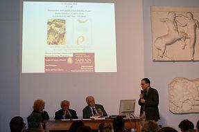 Foto presentazione volumi Ebla Project5.