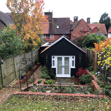 Extension to listed cottage