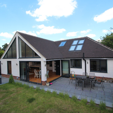 Loft conversion and extension to bungalow