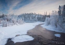 Cold Cameron River