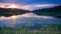Ingraham Trail Sunset