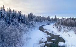 Winter Road Creek