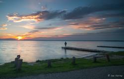 Lac Cardinal Sunset
