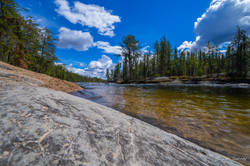 Yellowknife River Begins