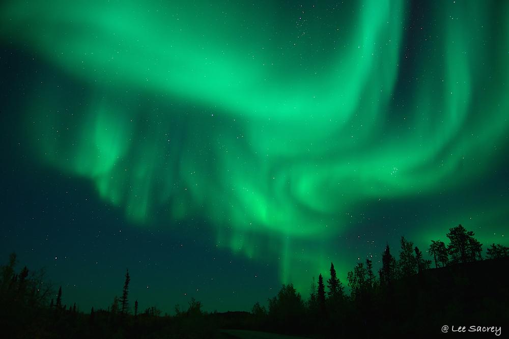 Dancing Night Sky