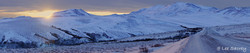 Winter Dusk on the Dempster