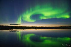 Fiddlers Lake Aurora