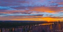 Sunset Jak Observation Tower