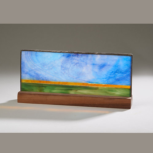 Stained Glass landscape (Horizon)