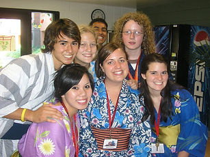 Live Your Dream: The Taylor Anderson Story Japanese Language Academy 2008 students with Taylor Sensei