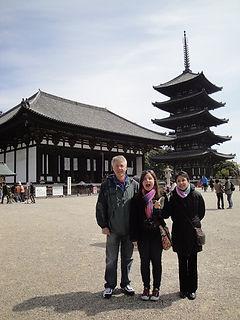 Andy Taylor Jean Nara, Japan March, 2010